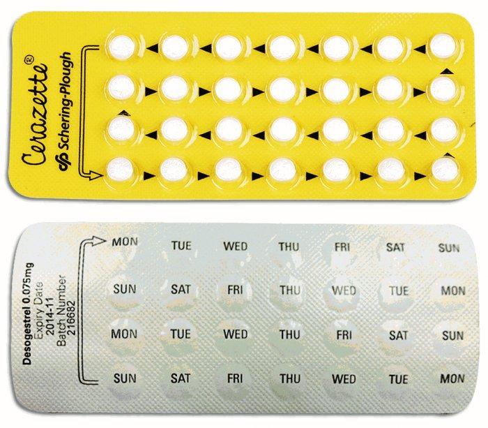 pastillas anticonceptivas cerazette