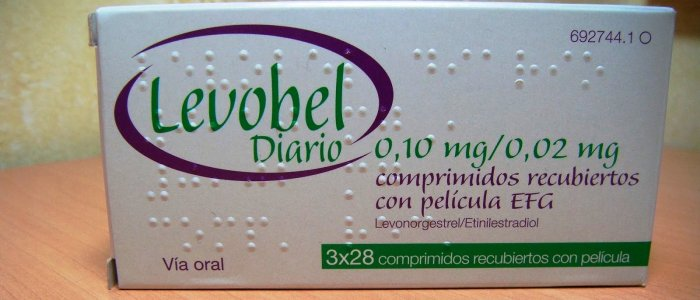 pastillas anticonceptivas levobel