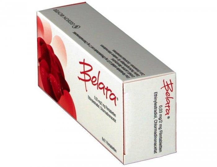 Píldoras orales Belara