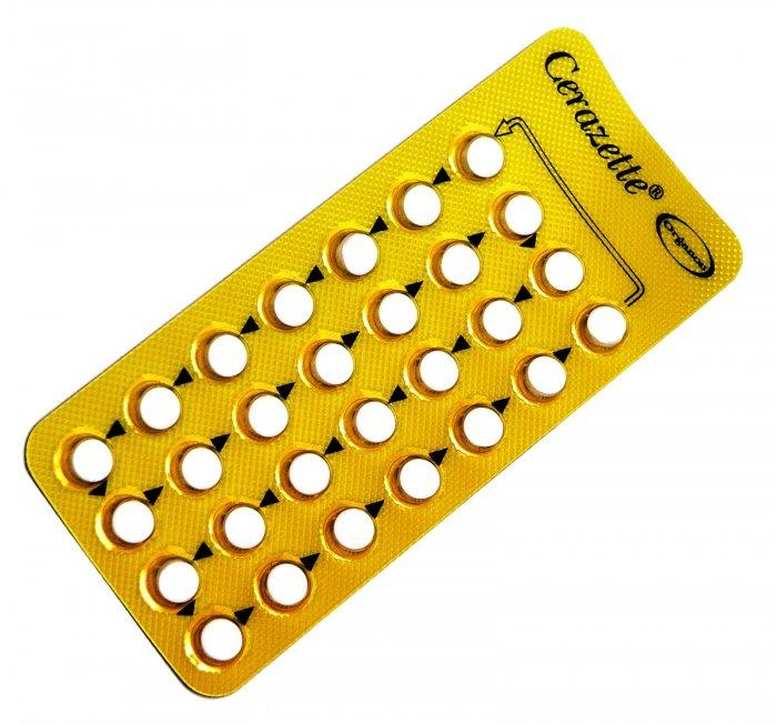 Píldora cerazette
